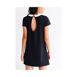 Urban Outfitters Collared Open Back Dress